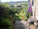 View from back patio to Higher Eype